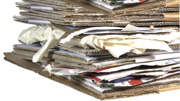Vývoz triedeného odpadu - PAPIER